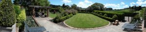 Part of the Neill garden. (Photo by Lorne Guilding)