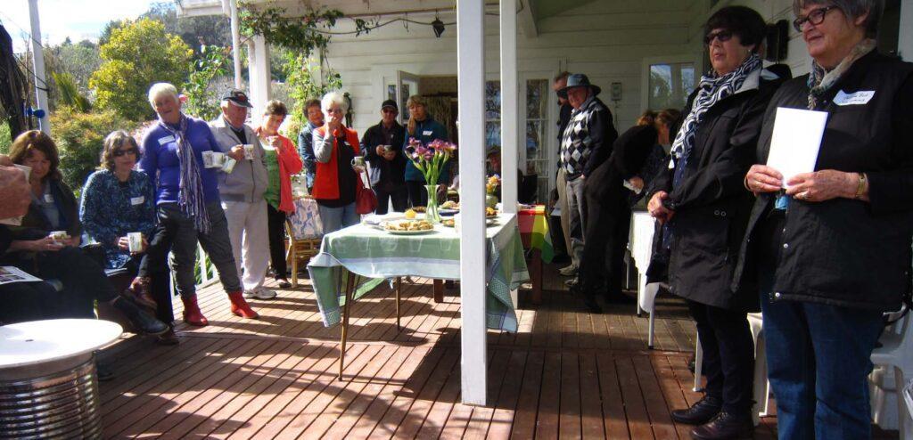NZ Iris Society Morning Tea