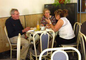 Lunch at the Tapawera Hotel
