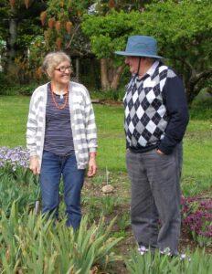 Alison & Noel talk irises