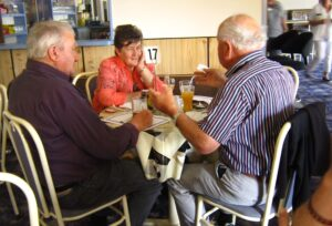 It was a great value meal and there was more time chatting and farewells.
